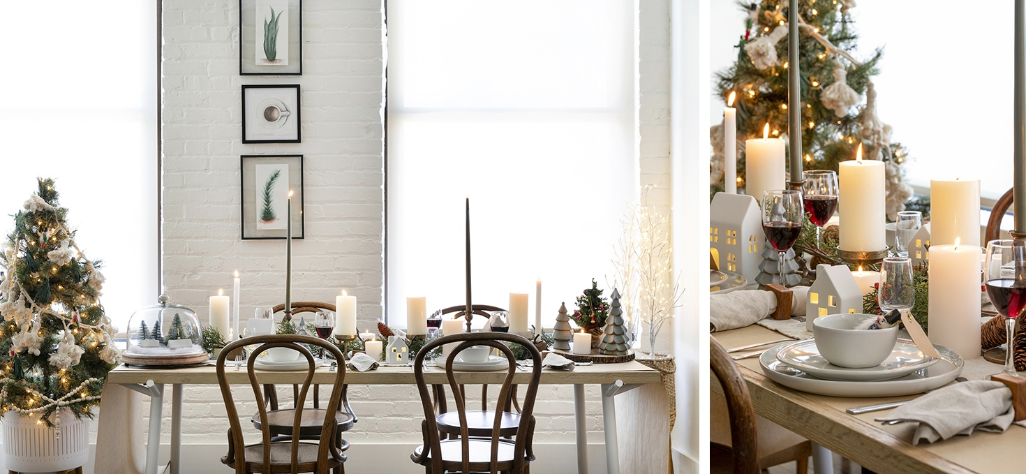 Lucy Interior Design, Ryan's Holiday Tablescape