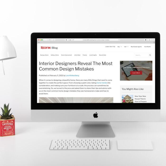 Lucy Interior Design, Redfin blog