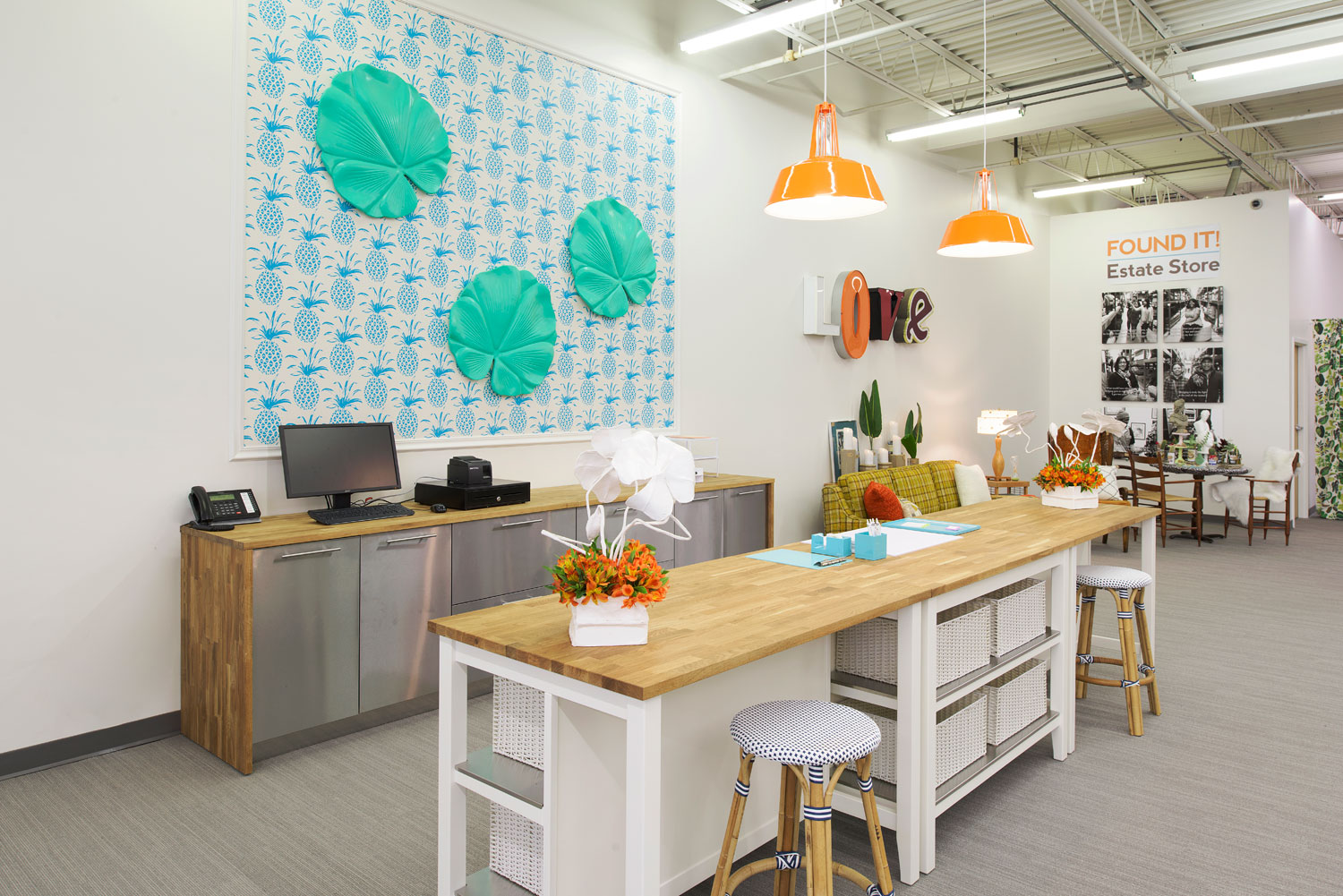 Lucy Interior Design, Design for a Difference - Bridging Found It! Estate Store