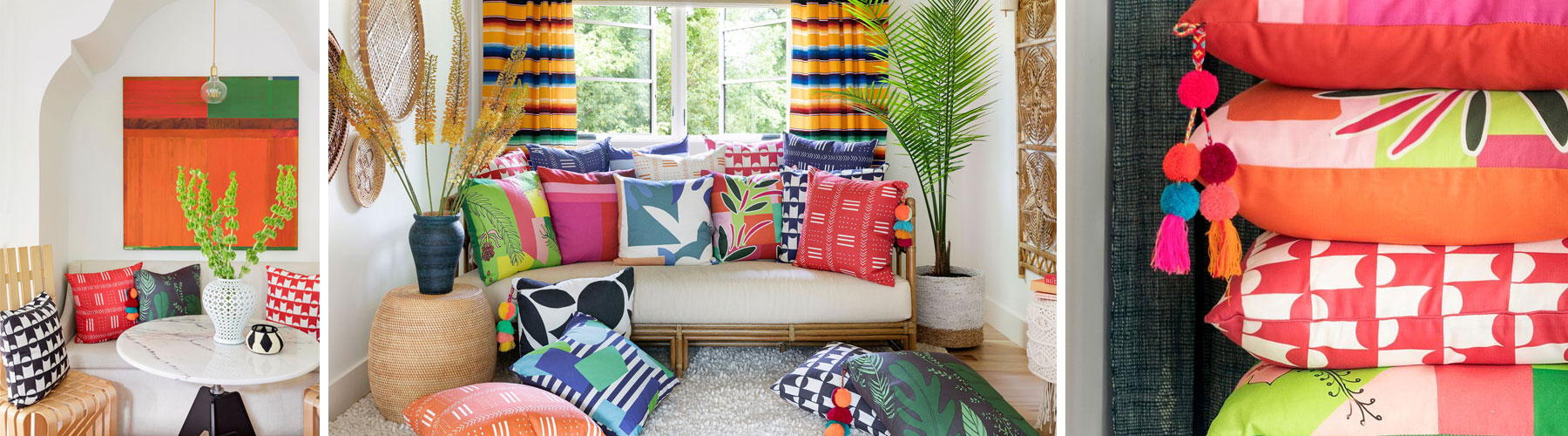 The Lucy Penfield Pillow Collection