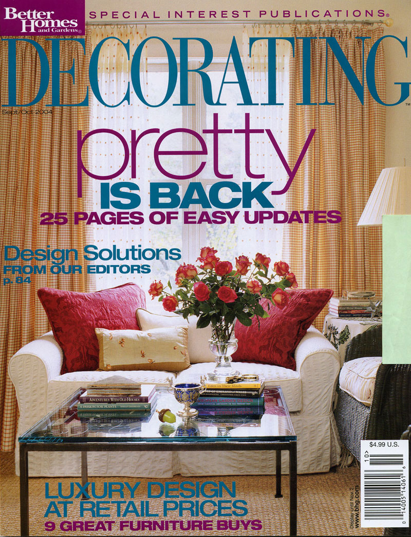 Better Homes and Gardens - Decorating